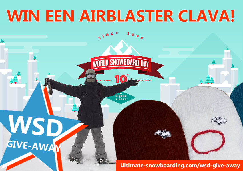 World Snowboard Day: win een Airblaster Clava