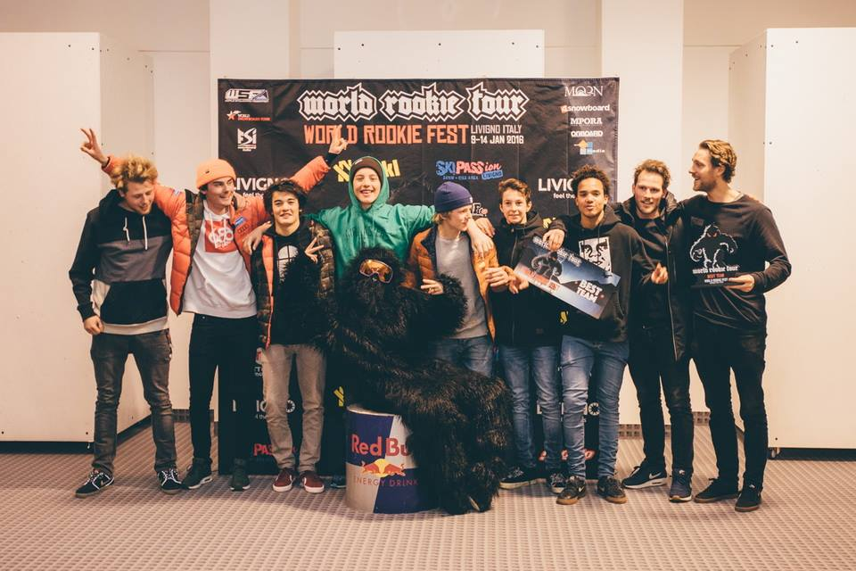 Nederlands team wint Rookie Fest Livigno