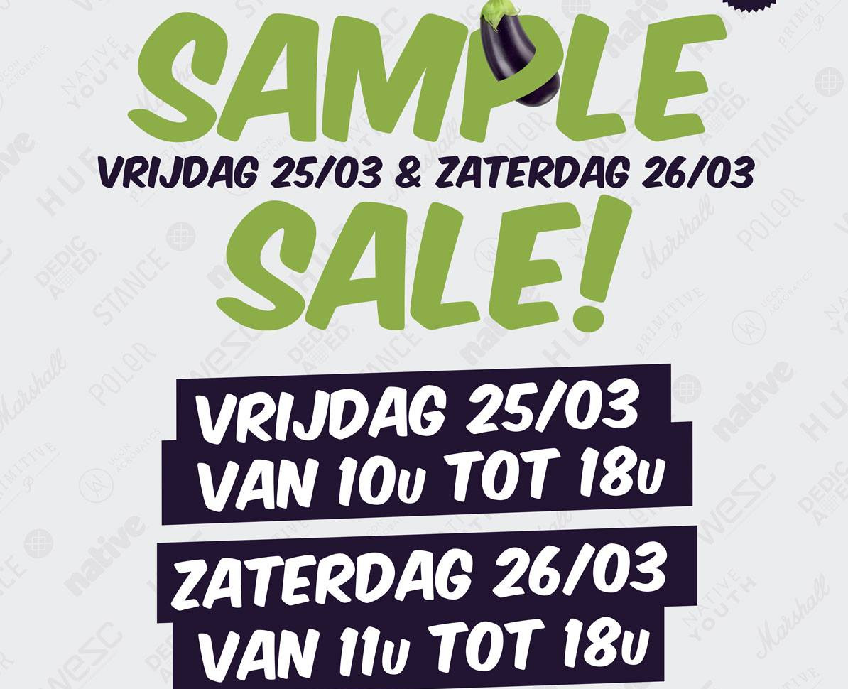 Sample Sale Zwijndrecht